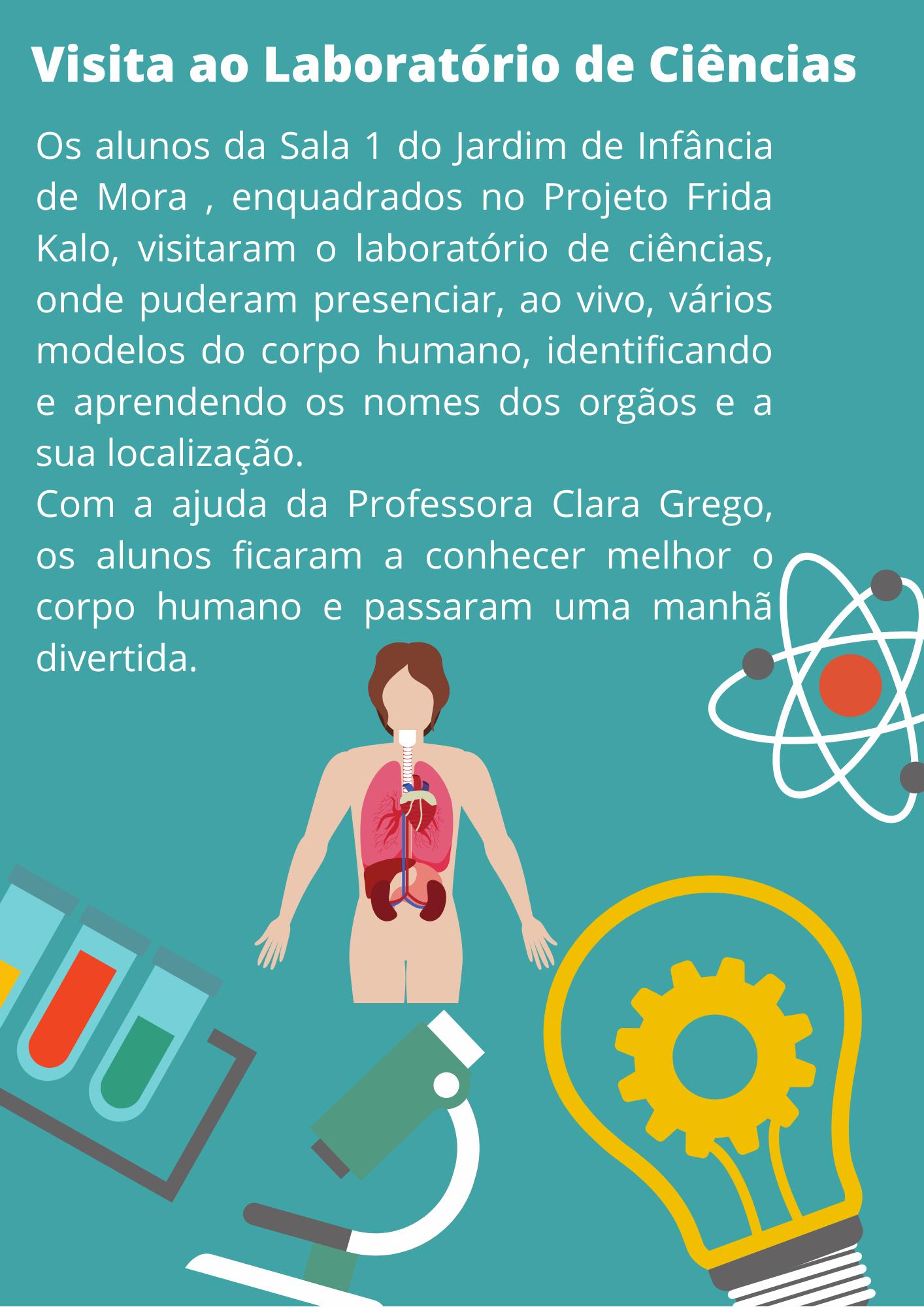 .: Visita ao Laboratório de Ciências :.