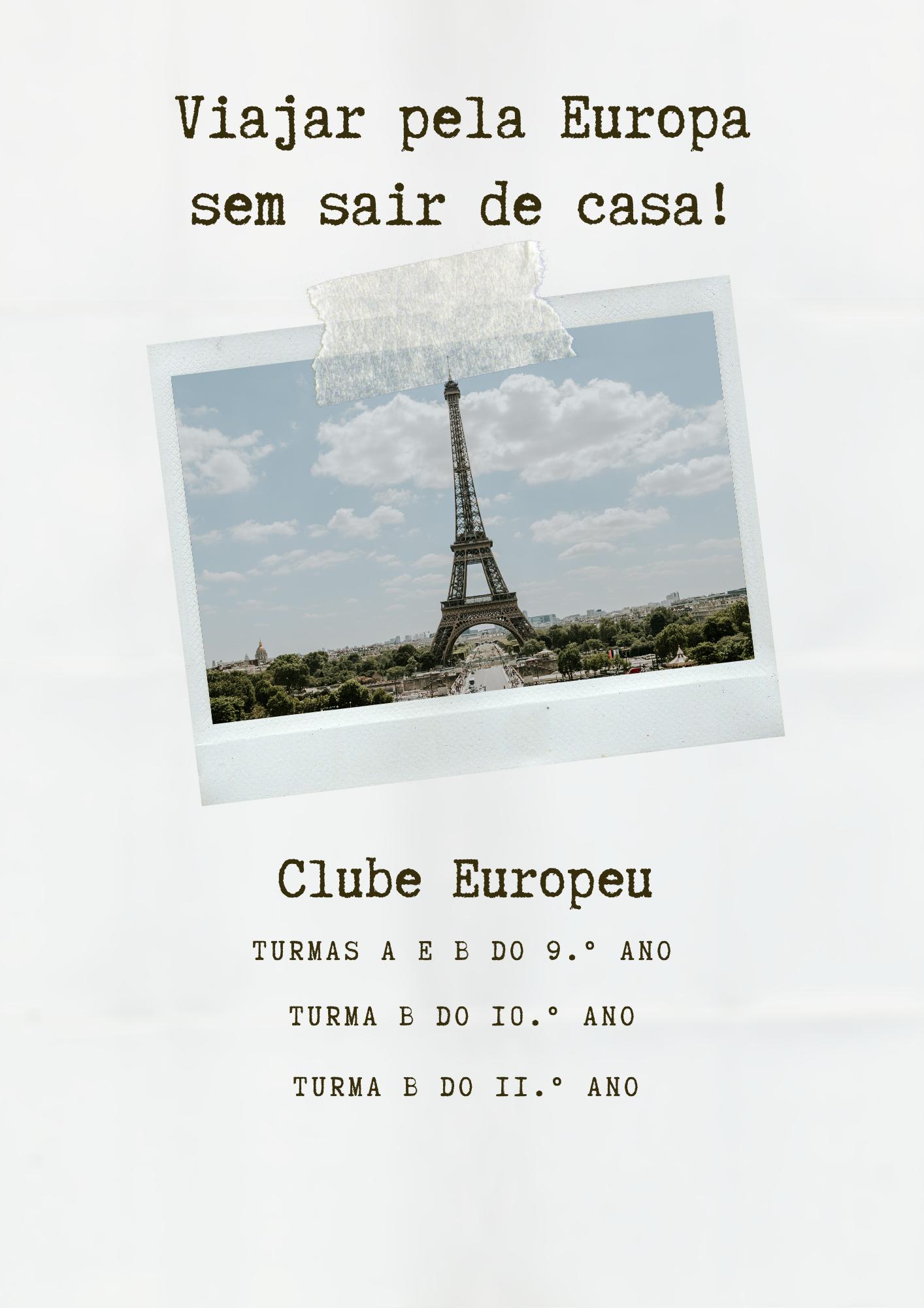 Viajar pela Europa sem sair de casa