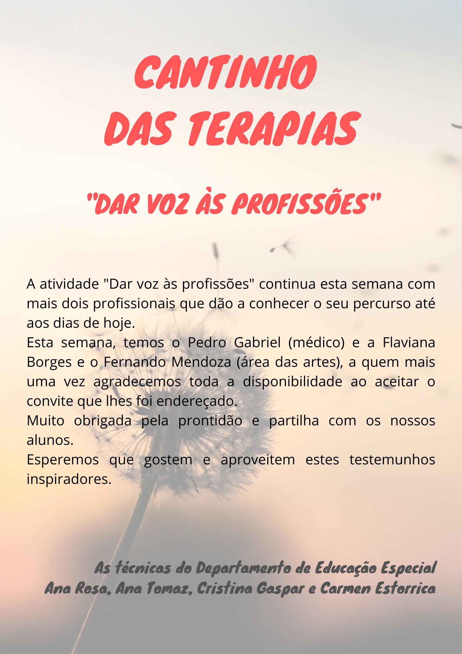 .: Cantinho das Terapias :.