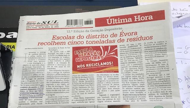 .: Eco-Escolas – Reciclagem :.