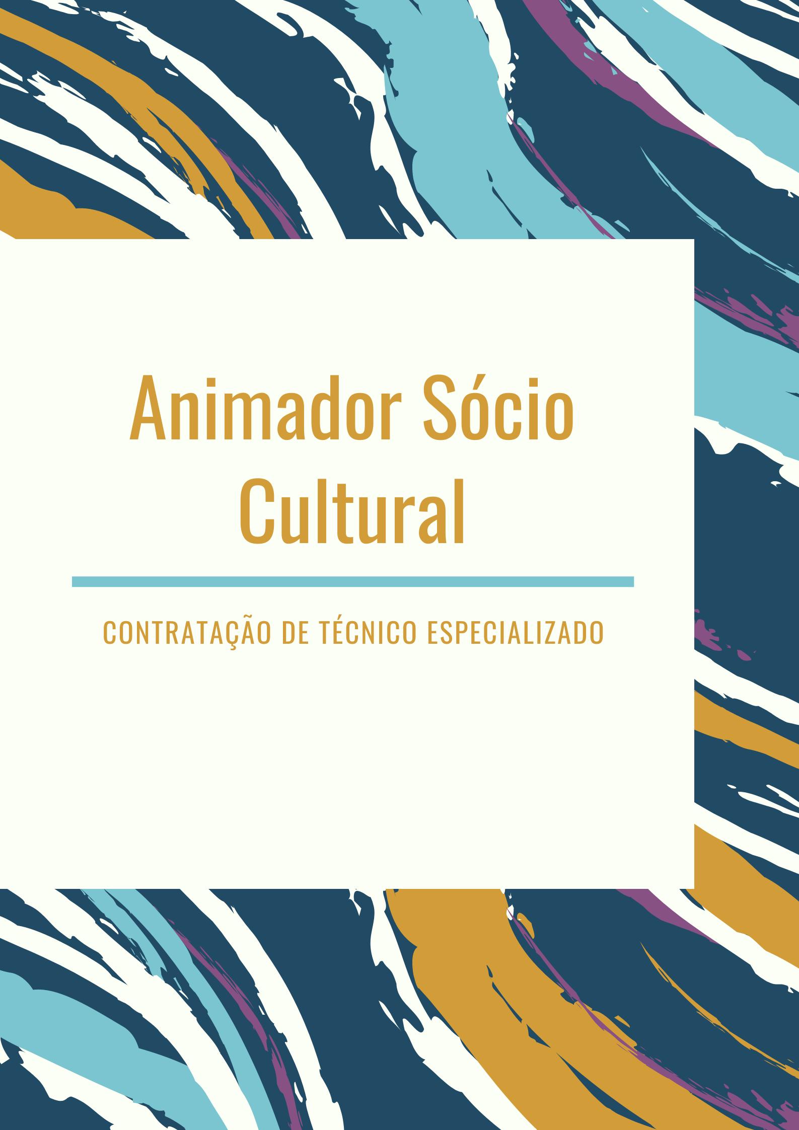Contratação de Animador Sócio Cultural