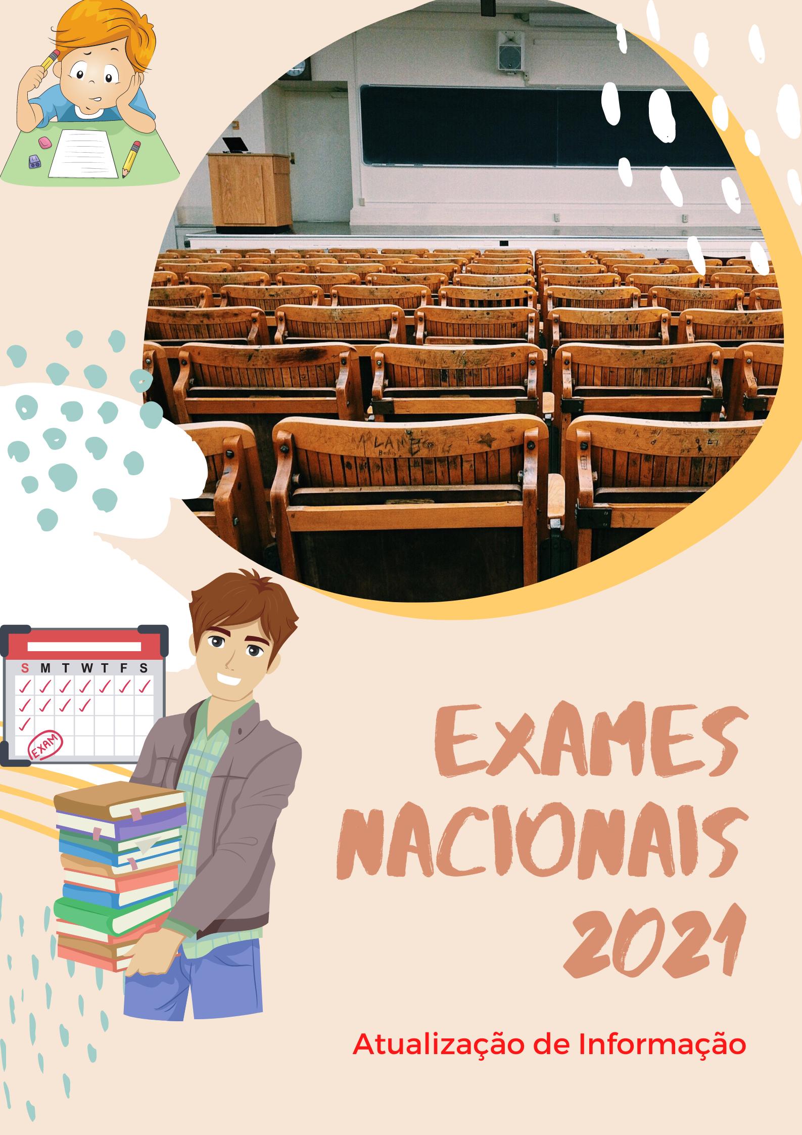 Exames Nacionais – Atualização de Informação