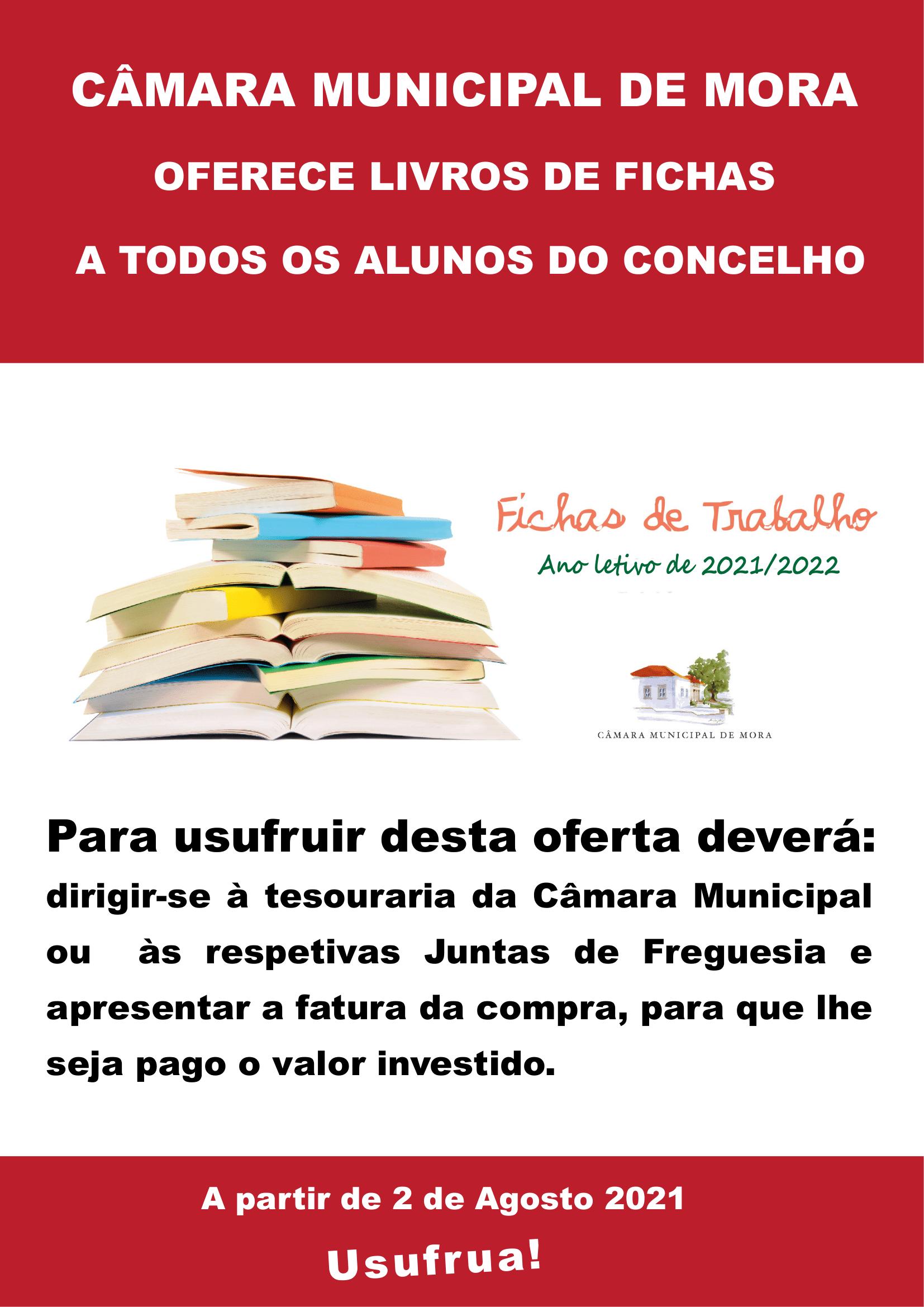 Oferta de Livros de Fichas
