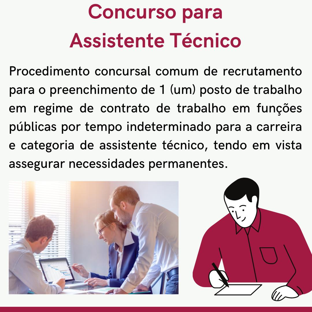 Concurso Para Assistente Técnico